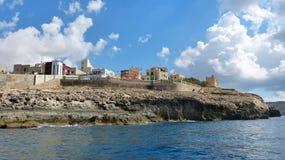 Wied iz-Zurrieq wybrzeże w Malta Zdjęcie Royalty Free