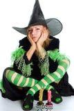 wiedźma halloween. Zdjęcie Royalty Free