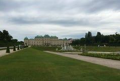 Wiedeń - park przy Schönbrunn pałac fotografia royalty free