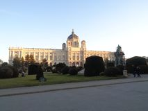 Wiedeń, Austria, muzeum sztuki historia obraz stock