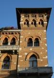 Wiedeń Austria, Sierpień, - 28, 2014: Widok jezioro i obsada Obraz Stock