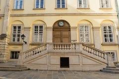 WIEDEŃ, AUSTRIA: stary ganeczek w cesarskim pałac Hofburg w Wiedeń, Austria, w Wrześniu 2017 Obraz Stock