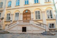 WIEDEŃ, AUSTRIA: stary ganeczek w cesarskim pałac Hofburg w Wiedeń, Austria, w Wrześniu 2017 Obraz Royalty Free