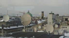 Wiedeń dachy zdjęcie royalty free