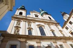 Wiedeń - jesuits kościelni obraz royalty free