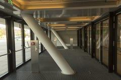 Wiedeń kampus - biblioteczny wnętrze Fotografia Stock