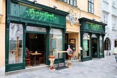 Wiedeń restauracja obrazy royalty free