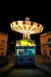 Wiedeń, Riesenradplatz i karuzela, fotografia stock