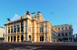 Wiedeń Stan Opera, Austria Zdjęcia Royalty Free
