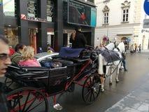 Wiedeń ulicy obrazy royalty free