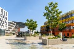 Wiedeń uniwersytet ekonomie i biznes obraz royalty free