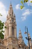 Wiedeń urząd miasta zdjęcia royalty free