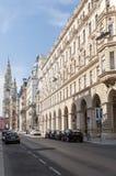Wiedeń urzędu miasta lateral widok Obrazy Royalty Free