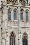 WIEDEŃ, AUSTRIA, E U - CZERWIEC 05, 2016: St Stephen katedra (S Zdjęcia Stock