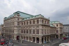 Wiedeń stanu opera - Wiener Staatsoper Fotografia Royalty Free