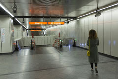 Wiedeń U-Bahn Obrazy Royalty Free