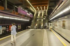 Wiedeń U-Bahn Obraz Royalty Free