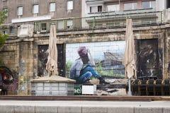 Wiedeń ulicy sztuka Obrazy Royalty Free