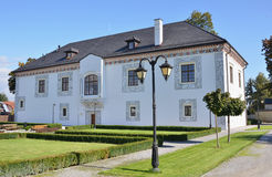 Wieder hergestelltes Renaissancegebäude - Hochzeits-Palast. Stockbild