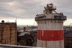 Wiederaufbauprozess Stockbilder