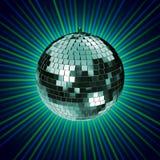 Wiedergabe 3d von Disco mirrorball Lizenzfreie Stockfotos