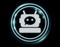 Wiedergabe Chatbot-Illustration 3D Stockfotografie
