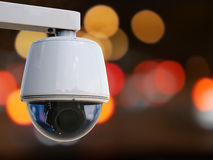 Wiedergabe 3d Überwachungskamera- oder cctv-Kamera Lizenzfreie Stockfotos