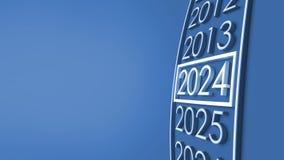 Wiedergabe 2024 3d Lizenzfreies Stockfoto