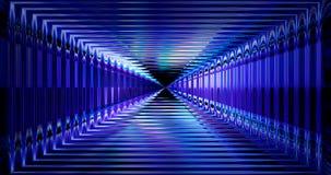 Wiedergabe 3d Abstraktes zukünftiges Technologiekonzept, High-Techer Hintergrund des Cyber Futuristisches Design der Zukunftsroma lizenzfreie abbildung