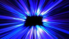 Wiedergabe 3d Abstraktes zukünftiges Technologiekonzept, High-Techer Hintergrund des Cyber Futuristisches Design der Zukunftsroma vektor abbildung