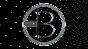 Wiedergabe 3d bitcoin netter Ikone für Symbol und andere Lizenzfreie Stockbilder