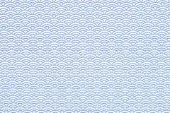 Wiedergabe 3d blauer Qinghai-Welle Stock Abbildung