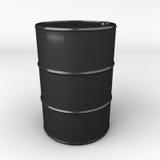 Wiedergabe 3d des Ölbarrels oder der Trommel Stockfotos