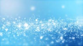 Wiedergabe 3D des abstrakten glänzenden blauen Hintergrundes Lizenzfreie Stockfotografie