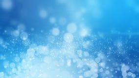 Wiedergabe 3D des abstrakten glänzenden blauen Hintergrundes Stockbilder