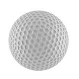 Wiedergabe 3D des Golfballs Stockfotografie