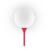 Wiedergabe 3D des Golfballs Lizenzfreie Stockfotos