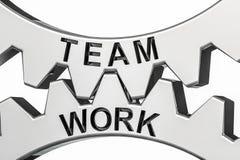 Wiedergabe 3d des Zeigens des Bildes der Teamwork Vektor Abbildung