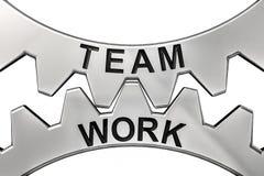 Wiedergabe 3d des Zeigens des Bildes der Teamwork Stock Abbildung