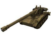 Wiedergabe 3d einer Haubitze M110A2 Lizenzfreies Stockfoto
