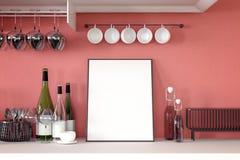 Wiedergabe 3d: Illustration des Weißspotts herauf Rahmen Geometrischer abstrakter Hintergrund für Design Spott herauf weißes Plak Lizenzfreie Stockfotografie