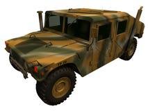 Wiedergabe 3d von einem Humvee Lizenzfreies Stockfoto