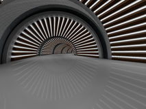 Wiedergabe des Korridors 3D Lizenzfreies Stockfoto