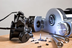 Wiedergutmachung der alten Kamera Stockbild