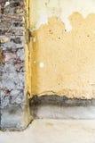 Wiederherstellung der Backsteinmauer Stockbilder