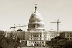 Wiederherstellung des Kapitols Lizenzfreie Stockbilder