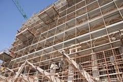 Wiederherstellung eines Gebäudes Lizenzfreies Stockbild