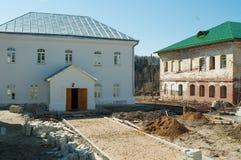 Wiederherstellung im Ioanno-Vvedenskyfraukloster Stockbild