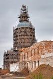 Wiederherstellung in Kloster Abalak Znamenski Russland Lizenzfreie Stockfotos