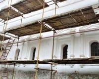Wiederherstellung von Monumenten der Architektur Lizenzfreie Stockbilder